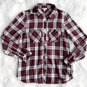 Soft Joie Flannel Long Sleeve Shirt J0779